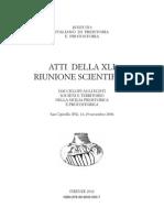 Fabrizio Nicoletti et Alii, Resoconto preliminare degli scavi dell'insediamento di Mursia (Pantelleria)