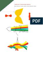 Ozdoby Choinkowe Wykonane z Kolorowego Papieru2