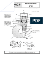 Repair Parts Sheet - Enerpac Punch SP-35