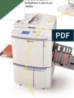 RP3700 riso printer fast network printing