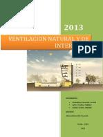 Ventilacion Natural y de Interiores (Final)
