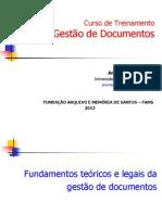 Gest+úo de Documentos FAMS 2013 (Ana C+®lia Rodrigues)