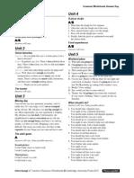 Interchange4thEd Level2 Grammar Worksheets AnswerKey