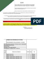 Horario ECBTI II 2013-2 Ajustado