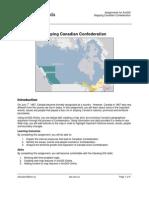 confederation assignment