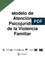 Modelo de Atencion Psicojuridica de La Violencia Familiar