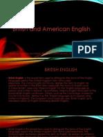 British and American English 2003