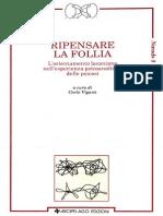 Ripensare La Follia - Cap. 3 - Massimo Recalcati-Legge e Mancanza dell'Altro