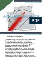 Analisis Del Lapiz