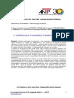 DETERMINAÇÃO DO ÍNDICE DE CAMINHABILIDADE URBANA