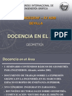 Mesa de Docencia-Geometria
