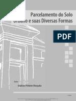Parcelamento Do Solo e Processo de Urbanizao