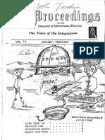 George Van Tassel Proceedings Vol 04 No 05 Jan Feb