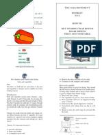 Booklet Solar Drying