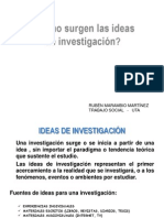 2.1 Idea de Investigar 2012