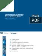 5.Sistema Garantizado de Transmision Linea de Transmision Machupicchu-Abancay-Cotarus5e