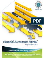 Financial Accountant Journal - Sept. 13 Extract