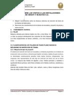 INFORME DE TEJIDOS II Nº3 VISITAS