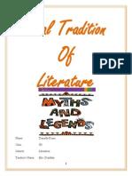 Oral Tradition of Literature