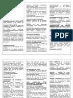 folleto de resumen Nutrición y vejez