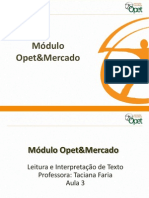 SLIDE Leitura Interpretacao U3
