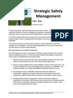 Strategic Safety Management Part 1