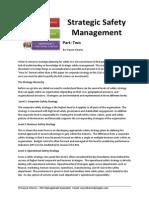 Strategic Safety Management Part 2