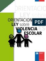.Orientaciones Ley Violencia Escolar
