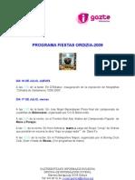 recital ordizia_programa de fiestas
