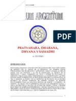 Pratyahara Dharana Dhyana y Samadhi Aleister Crowley
