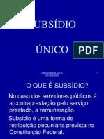 Subsídio Único