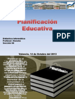 Plan if Icac i on Educativa o Gordon 2013