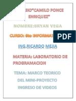 Informe Mini Proyecto