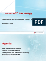 Bluetooth v4 - A Low Energy Technology to the Bluetooth Specification