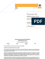 Procesos de Alfabetizacion Inicial Lepri