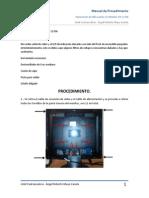 Falla común en monitor HP L1706