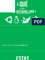 Software Libre Fin