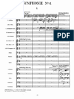 Mahler's Fourth Symphony - Complete Orchestral Score