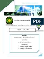 Informe de La Cuenca Choca
