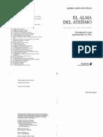COMTE-SPONVILLE, André- El alma del ateísmo. Introducción a una espiritualidad sin Dios - Paidós 2006