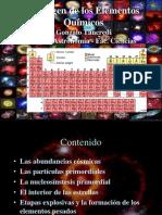 El Origen de Los Elementos Quimicos (1)