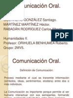 Exposición Comunicación Oral