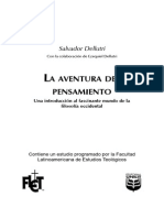 Salvador Dellutri... La Aventura Del Pensamiento ( La Filosofia Occidental)