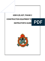 2005 Us Army Construction Equipment Repairer Instructor's Guide 193p