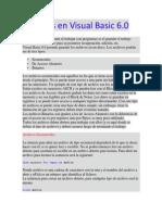 Archivos en Visual Basic 6