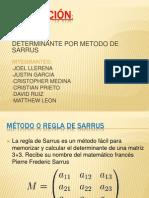 Metodo de Sarrus