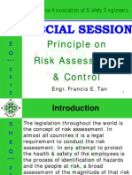 Principle on Risk Assessment and Control