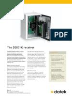 Datek Receiver D2001K