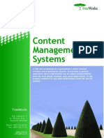 Content Management Systems (TreeWorks White Paper)