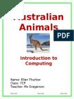 thurlow ellen australia animals